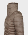 Women's IRIS Winter Coat in Pearl Grey