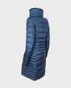 Womens IRIS Winter Coat in Space Blue