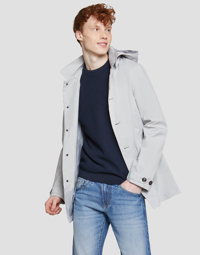 Save The Duck Veste Homme-S4202M-GRIN6-30 Ice Grey