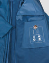 Mens RAIN Coat in Navy Blue