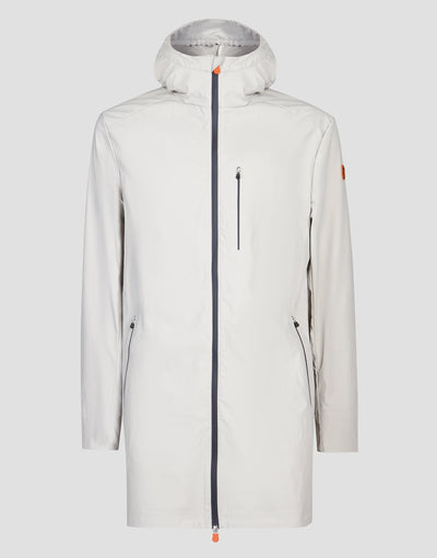 Mens RAIN Coat in Ice Grey