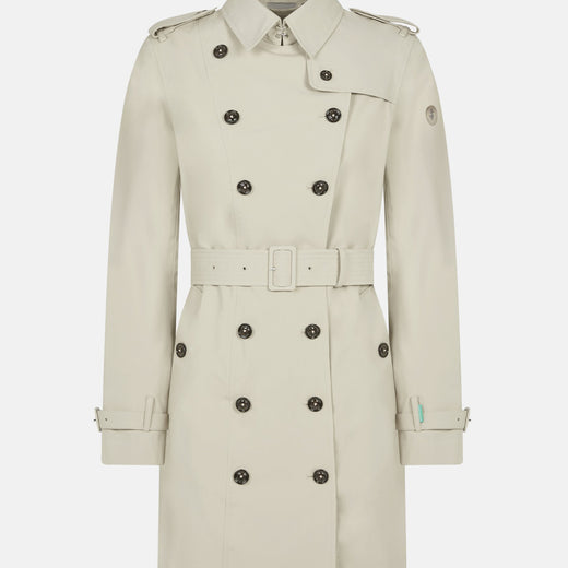 Save The Duck Womens GRIN Elegant Double-Breasted Coat