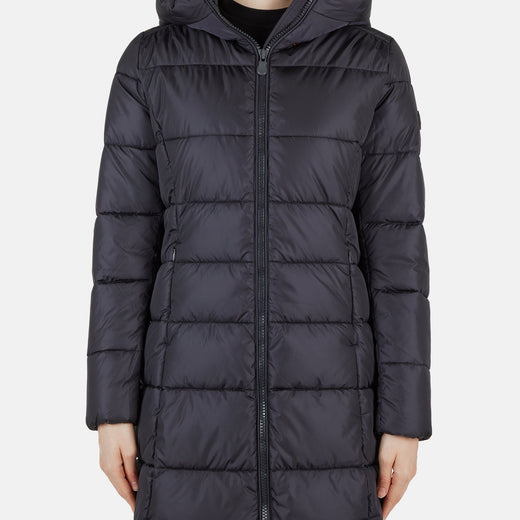 Womens Hooded Oversized Puffer Coat in MEGA