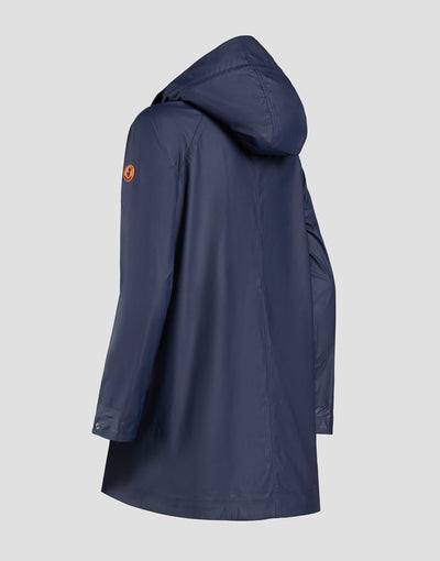 Save The Duck Manteau-S4312W-RAIN6-09 Bleu marine