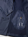 Save The Duck Womens Coat-S4312W-RAIN6-09 Navy Blue