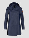 Save The Duck Womens Coat-S4312W-RAIN6-30 Ice Grey