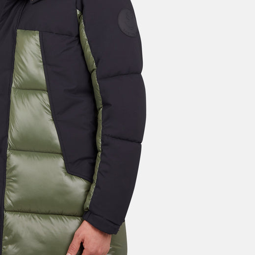 Unisex LUMA Winter Hooded Puffer Coat