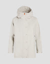 Save The Duck Womens Coat-S4429W-RAIN6-30 Ice Grey