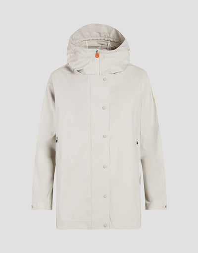 Womens RIAN Coat in Ice Grey