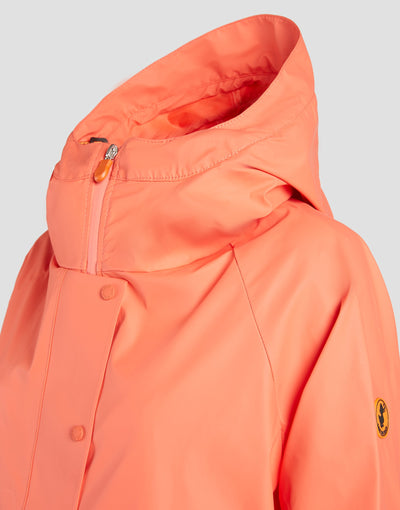 Womens RAIN Coat in Aurora Yellow