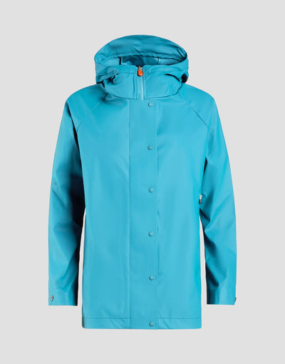 Save The Duck Manteau Femme-S4429W-RAIN6-01059 Hawaiian Blue