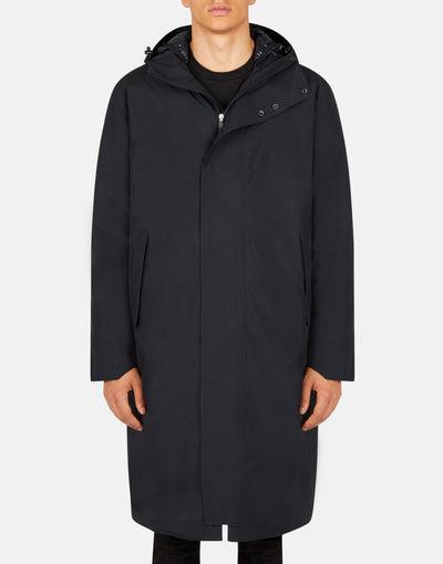 Save The Duck Parka à capuche minimaliste Hero pour homme