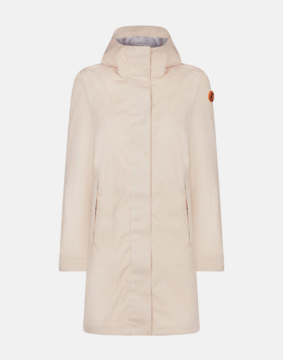Save The Duck Womens BARK Hooded Coat