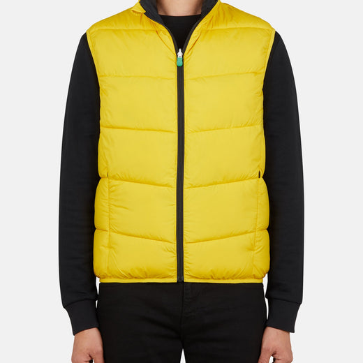 Mens Reversible Puffer Vest in RECY