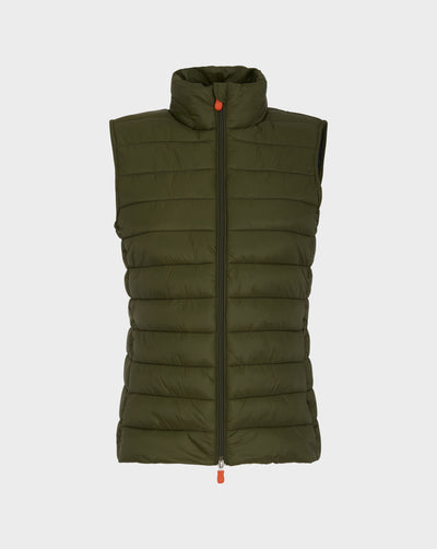 Womens GIGA Vest in Dusty Olive
