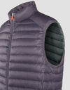 Men's GIGA Puffer Vest in Navy Blue