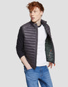 Men's GIGA Puffer Vest in Opal Grey