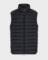 Mens GIGA Quilted Vest in Black