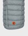 Mens GIGA Quilted Vest in Shark Grey