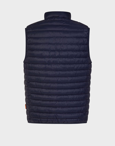 Mens GIGA Puffer Vest in Navy Blue