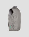 Save The Duck Mens Vest-S8400M-FEEL6-15 Gris Moyen