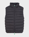 MENS RECY VEST IN Brown Black