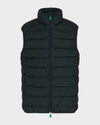 Mens RECY Vest in Green Black