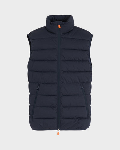 Men's Angy Vest in Blue Black