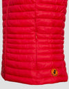 Save The Duck Womens Vest-S8544W-GIGA6-24 Tomato Red