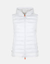 Save The Duck Womens Hooded Vest in SOLD