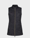 Womens IRIS Vest in Black