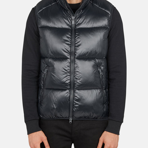 Mens Puffer Vest in LUCK