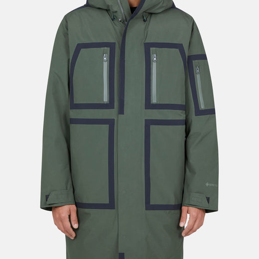 Mens Hooded Winter Coat in HERO