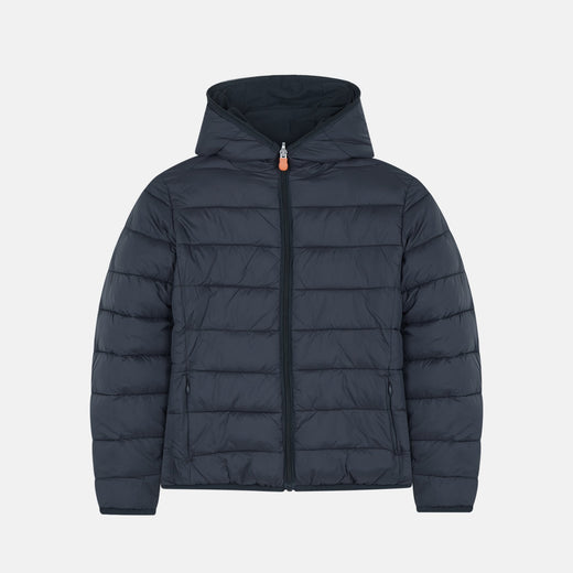 Boys MATT Reversible Hooded Rain Jacket
