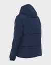 Mens COPY Winter Hooded Parka in Navy Blue