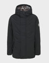Mens COPY Winter Hooded Parka in Black