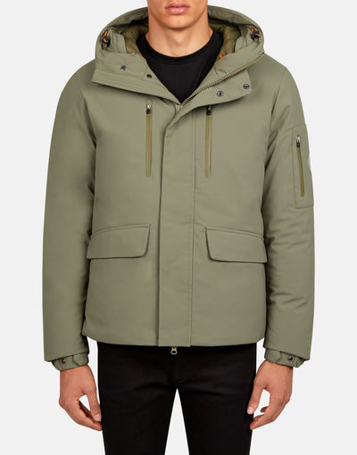 Save The Duck Men's SMEG Winter Hooded Practical Parka