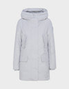Womens COPY Winter Hooded Parka in Frozen Grey