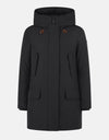 Save The Duck Womens Hooded Coat in COPY