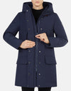 Save The Duck Women's COPY Classic Winter Hooded Parka