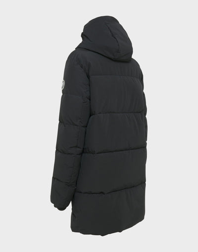 Mens COPY Hooded Parka WINTER Coat in Black