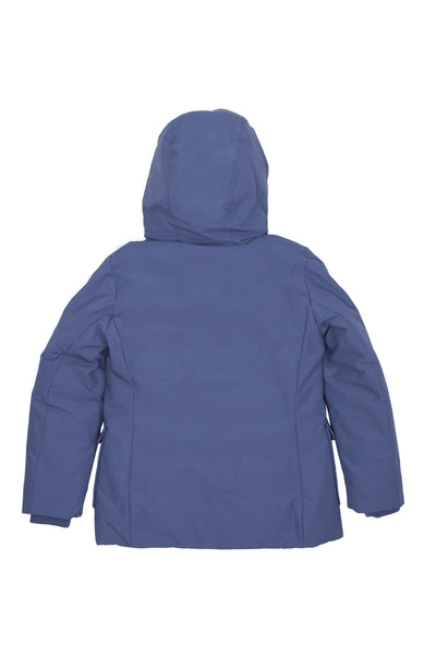 Boy's Winter Coat in Lake Blue