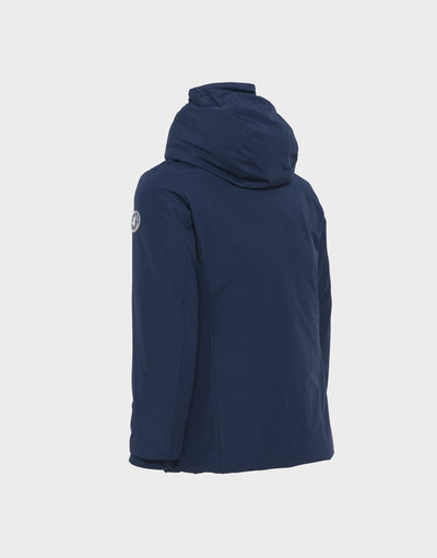 BOYS COPY WINTER HOODED PARKA IN Navy Blue