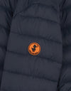 Save The Duck Boy's GIGA Hooded Puffer Jacket with Faux Sherpa Lining