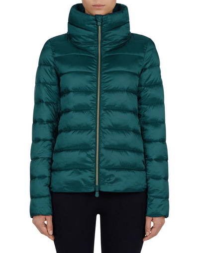 Save The Duck Women's IRIS Stand Collar Jacket