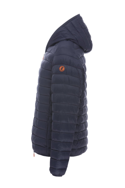 Men's Hooded Jacket in Navy Blue