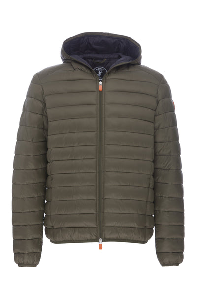 Men's Hooded Jacket in Dusty Olive