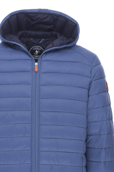 Men's Hooded Jacket in Lake Blue