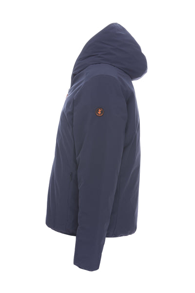 Men's Reversible Jacket in Navy Blue