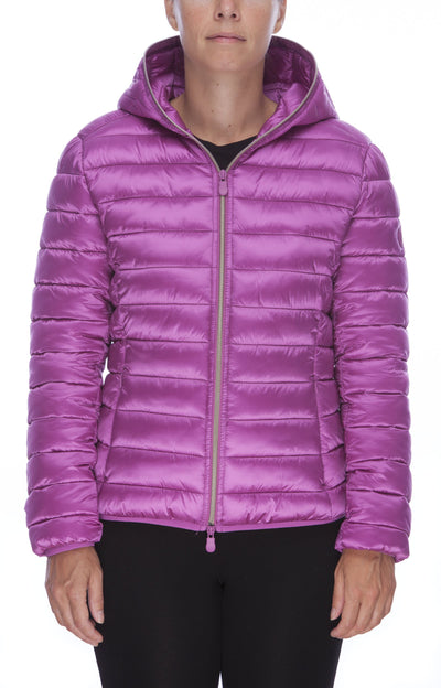 Women's Jacket in Ibis Rose